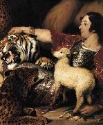 Isaac van Amburgh and his Animals Sir Edwin Landseer