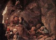 Temptation of St Anthony TENIERS, David the Younger