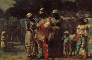 Carnival costumes for dress up Winslow Homer