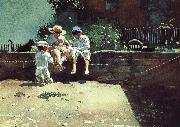 Boys and kittens Winslow Homer