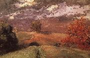 Autumn in New York mountain Winslow Homer