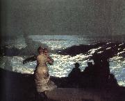 A summer night Winslow Homer