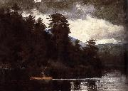 A first Lenk Lake Winslow Homer
