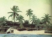 Black Lodge Winslow Homer
