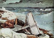 After Tornado Winslow Homer