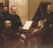 around the piano  by henri fantin latour plato