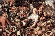 The Vegetable Market BEUCKELAER, Joachim
