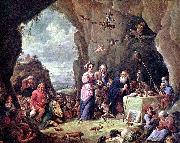 The Temptation of St. Anthony David Teniers the Younger