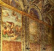 interior of the villa farnesina Raphael