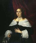 Lady in Black Bartholomeus van der Helst