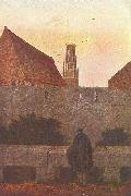 By the townwall Caspar David Friedrich