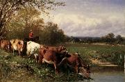 Cattle and Landscape James McDougal Hart