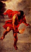 Prometheus Carrying Fire Jan Cossiers
