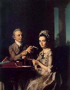 Mr. and Mrs. Thomas Miffin (Sarah Morris) (Thomas Mifflin) John Singleton Copley