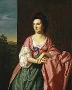 Mrs. Sylvester Gardiner, nee Abigail Pickman, formerly Mrs. William Eppes John Singleton Copley