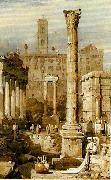rome the forum Samuel Prout