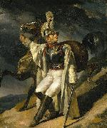 The Wounded Cuirassier, study Theodore Gericault