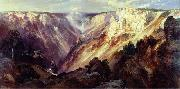 canvas painting by Thomas Moran Thomas Moran