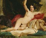 Female Nude in a Landscape by William Etty. William Etty