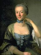Portrait of Judith Gessner, wife of Solomon Gessner Anton Graff