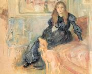 Julie Manet and her Greyhound, Laertes Berthe Morisot