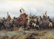 Feat of Cavalry Regiment at the battle of Austerlitz in 1805. Bogdan Villevalde