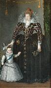 Portrait of Maria de' Medici and her son Louis XIII Charles Martin