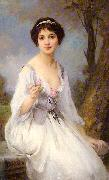 The Pink Rose Charles-Amable Lenoir