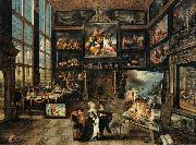 Interior of a Collector's Gallery of Paintings and Objets d'Art Cornelis de Baellieur