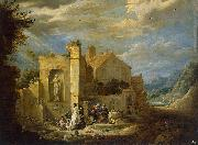 Temptation of St Antony David Teniers the Younger