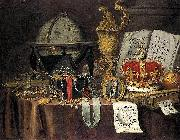 Vanitas Still Life Evert Collier