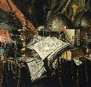 Vanitas Still-Life Evert Collier