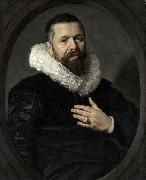 Portrait of a Bearded Man with a Ruff Frans Hals