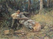 Sawing Timber Frederick Mccubbin