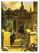 View of a Terrace HONDECOETER, Melchior d