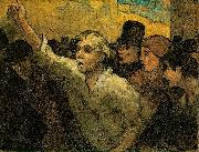 Two Uprising Honore Daumier