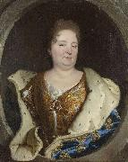 Portrait of Elisabeth Charlotte of the Palatinate Duchess of Orleans Hyacinthe Rigaud