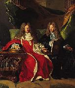 Pierre-Cardin Lebret (1639-1710) and his son Cardin Le Bret (1675-1734), Hyacinthe Rigaud