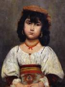 Portrait of a Little Girl Ion Georgescu