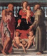 Madonna and Child with Two Saints Jacopo Pontormo