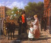 Flower Seller Jacques-Laurent Agasse