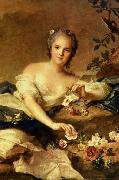 known as Madame Henriette represented as Flora in Jean Marc Nattier