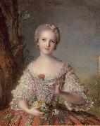 Madame Louise of France Jean Marc Nattier
