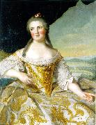 daughter of Louis XV and wife of Duke Felipe I of Parma Jean Marc Nattier