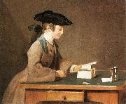 The House of Cards Jean Simeon Chardin