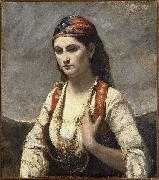 Young Woman of Albano camille corot