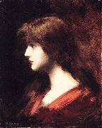 Head of a Girl Jean-Jacques Henner