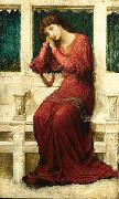 When Sorrow comes to Summerday Roses bloom in Vain John Melhuish Strudwick