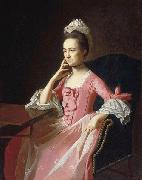 Portrait of Dorothy Quincy John Singleton Copley