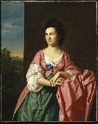 Mrs Sylvester Gardiner nee Abigail Pickman formerly Mrs William Eppes John Singleton Copley